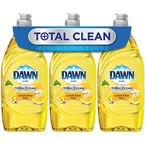 Dawn Total Clean Refreshing Lemon Twist 3x24oz ()
