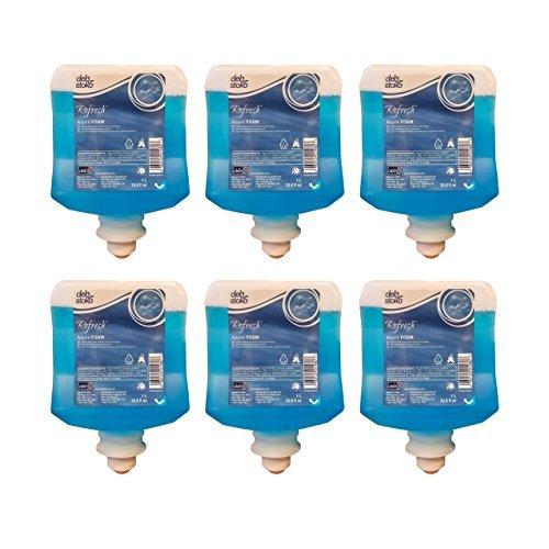 DEB-AZU1L - Deb Refresh Azure FOAM Wash 1000ml Refill, 6/CS by Deb Stoko