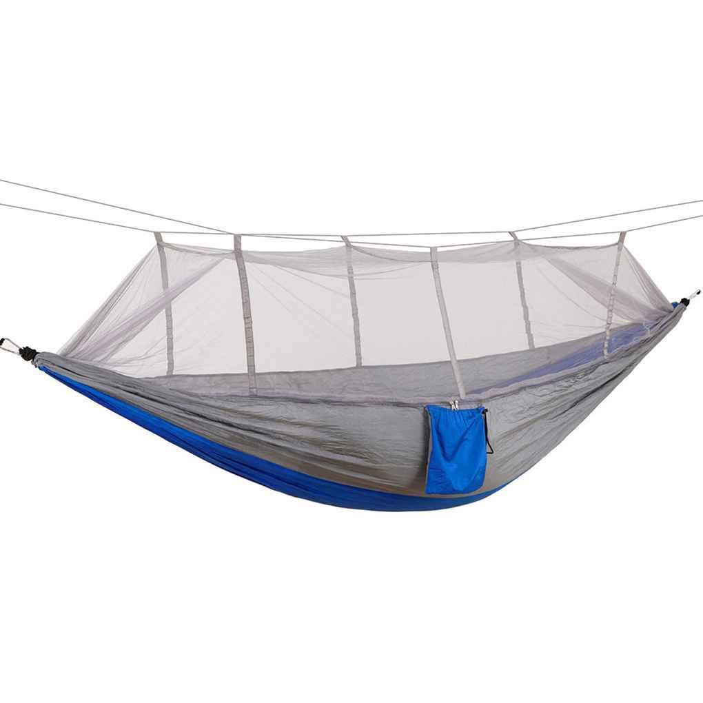 Morza Paraca/ídas Tela Mosquitera Dormir Hamaca 2 Persona Cama para Dormir al Aire Libre para la Caza Que acampa
