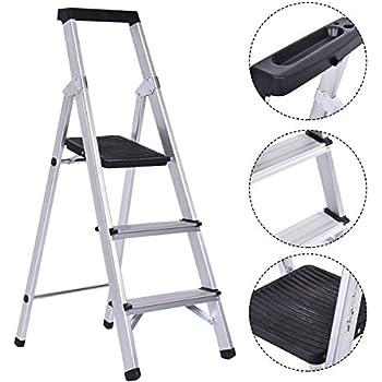 Cosco Three Step 5 Lite Solutions Folding Step Ladder