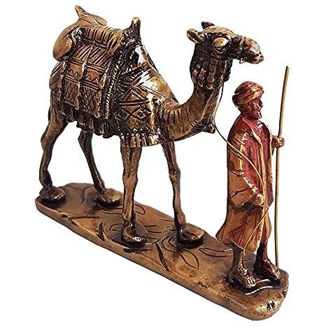 Amazon.com: Shrinath Handicrafts - Figura de camello de ...
