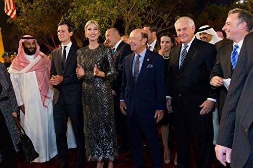 Jared Kushner, Ivanka Trump, Rex Tillerson, Reince Priebus, Saudi Arabia 8''x10'' Photo Print 8x10