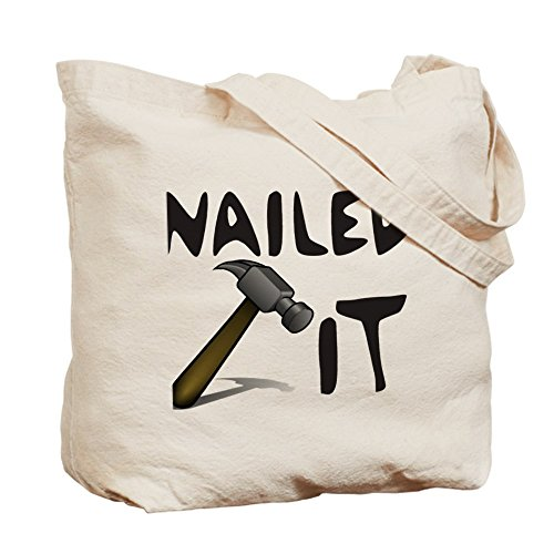 CafePress–Nailed It–Gamuza de bolsa de lona bolsa, bolsa de la compra