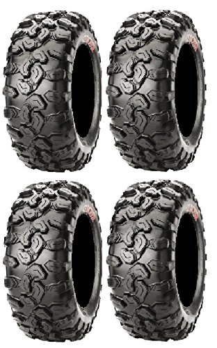 Full set of CST Clincher (6ply) 28x10-14 ATV Tires (4) Clincher Set