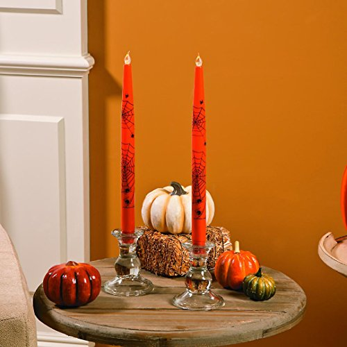 Halloween Taper Candle - Fun Ex Halloween Battery-Operated Taper Candles