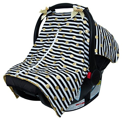 Cow Print Baby Car Seat Stroller - 5