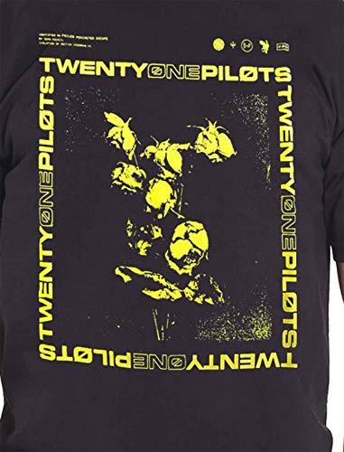 a13bd4515 Twenty One Pilots T Shirt Trench Wilt Box Band Logo Official Mens Black