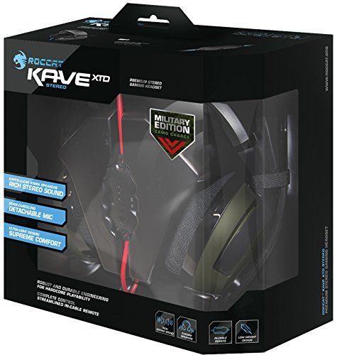 ROCCAT KAVE XTD Stereo Military Edition Premium Gaming Headset, Camo Charge by ROCCAT (Image #5)