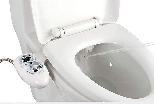 Accesorio de WC de Bid/é Mec/ánico no El/éctrico de Agua Dulce IBAMA Bid/és Blanco-01 Boquilla de Autolimpieza
