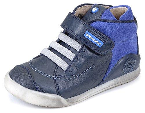 Biomecanics 161163-B - Zapatillas para niños, color , talla Azul Marino/Azul Electrico (Sauvage/Serraje)