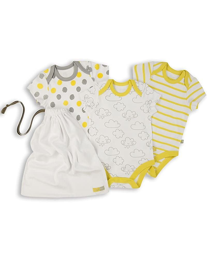 The Essential One - Paquete de 3 Body Bodies para bebé unisex - ESS169