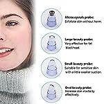 Blackhead Remover Pore Vacuum Cleaner,Facial Pore Cleanser Blackhead Remover Vacuum Comedo Suction Microdermabrasion Machine