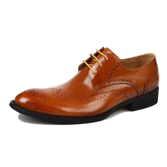 Yra Zapatos Brock Para Hombre De Negocios Vestidos Para Hombres Zapatos Con Punta De Hombre Derby