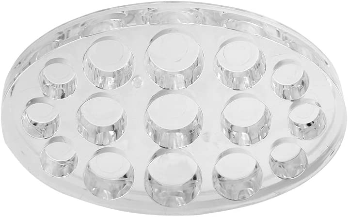 Tattoo Pigment Ink Cap Cup Holder Stand Kit Full Set in Oval by Filfeel