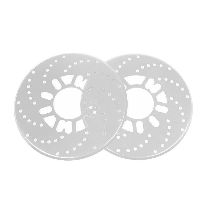 Amazon.com: uxcell 2 Pcs Aluminum Disc Brake Rotor Cover ...
