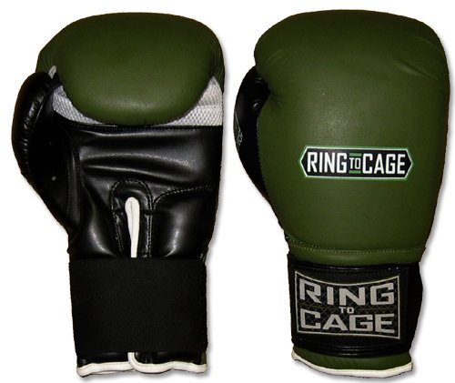 Ring to Cage GelTech Super Bag Glovesfor Muay Thai, MMA, Kickboxing, Boxing-Large/16oz