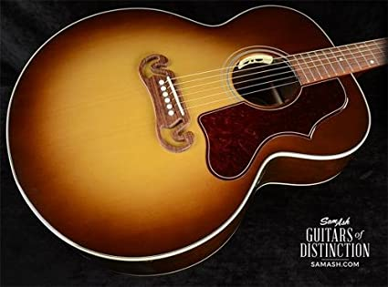 Gibson SJ-100 nogal super jumbo Guitarra Electroacústica guitarra ...