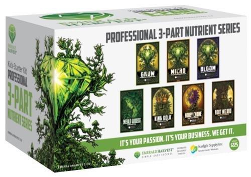 Emerald Harvest Kick-Starter Kit - 3 Part Base - Base Emerald