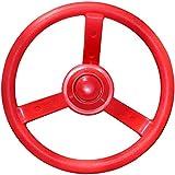 "Jungle Gym Kingdom 12"" Playground Plastic Steering Wheel - Red"