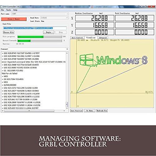 51s%2BvtaFeiL purewords mini diy cnc3018 2500 mw laser grbl control, 3axis pcb