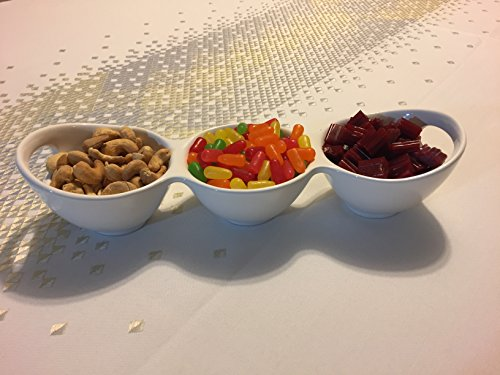 3 Section Candy Dish - 7