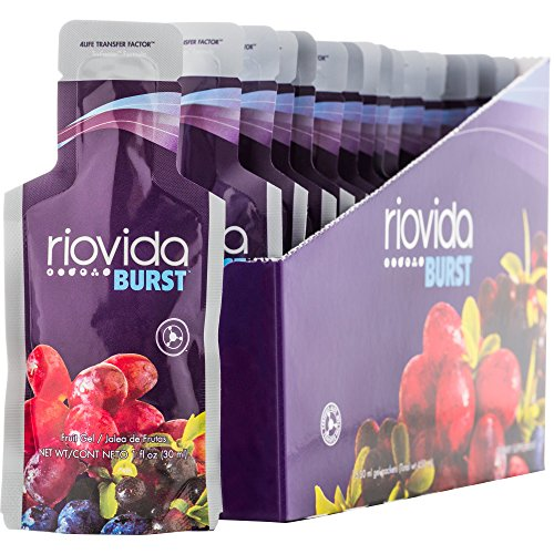 Transfer Factor RioVida Burst Tri-Factor Formula (7 for the Price of 6) by 4Life - 15ct Box / 7 Boxes