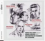 Works for Piano - Denes Varjon, piano by S????ndor Veress: Concerto pour piano; Henri Dutilleux: Myst????re de l'instant; B????la Bart????k: Divertimento (Music CD)