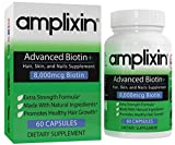 Amplixin Advanced+ Biotin Supplement - Hair Vitamins for Faster Hair Growth, Stronger Nails