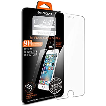 Spigen iPhone 6s Plus Screen Protector Tempered Glass / 9H Hardness for iPhone 6s Plus / 6 Plus