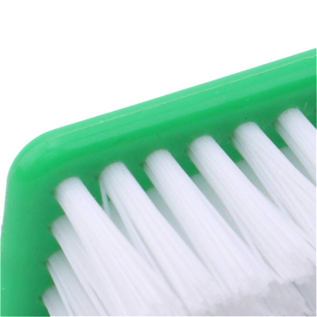 LZIYAN Long Handle Nail Scrub Brushes Nail Cleaning Brush For Manicure Multipurpose Tool For Cleaning Clothes Shoes,Green by LZIYAN (Image #5)