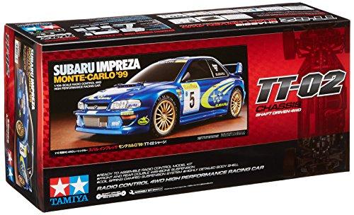 - Tamiya 1/10 1999 Subaru Impreza Monte-Carlo 4WD Rally TT-02 Kit