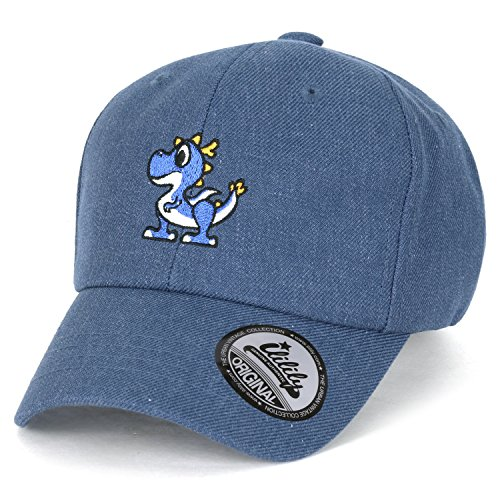 ililily Cute Dragon Embroidery Adjustable Toddler Baby Kids Hat Baseball Cap - 9fifty Cap Strapback