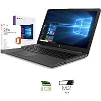 "HP 255 G7 Ordenador portátil 15.6"" HD A4 9125 2.60Ghz Turbo, 8GB RAM, 256 GB SSD M.2, Radeon R3 Graphics, Windows 10 Professional, HDMI,- Teclado QWERTY Italiano Notebook"