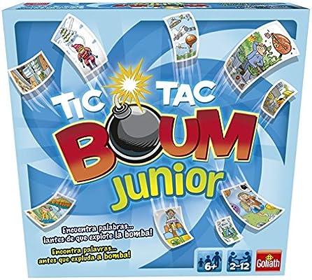 Goliath - Tic Tac Boum Junior, Juego de Cartas , Encuentra la ...