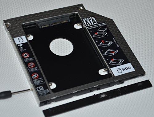 Deyoung 2nd Hard Drive HD SSD Caddy for DELL Latitude E5440 E5540 E6440 E6540 Swap GU90N (Drive Bay E5540)