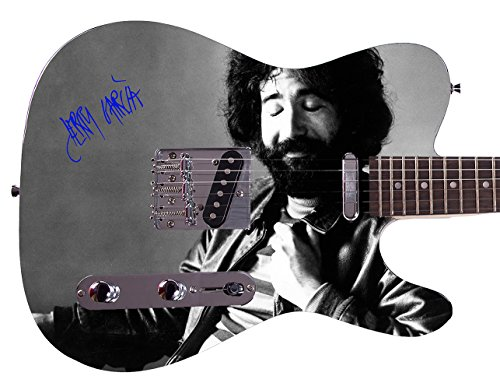 - Grateful Dead Jerry Garcia Autographed Signed Custom Graphics Guitar