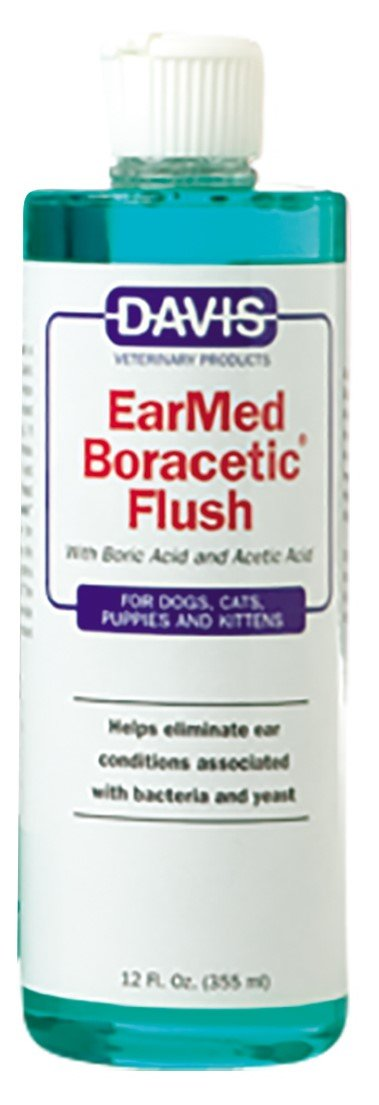 Davis EarMed Boracetic Ear Flush Pets, 12 oz by Davis