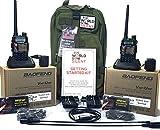 Deluxe Handheld Ham Radio Emergency Kit (for TWO people)