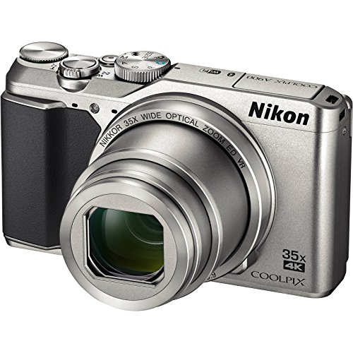 (Nikon Coolpix A900 4K Wi-Fi Digital Camera (Silver) - (Certified)