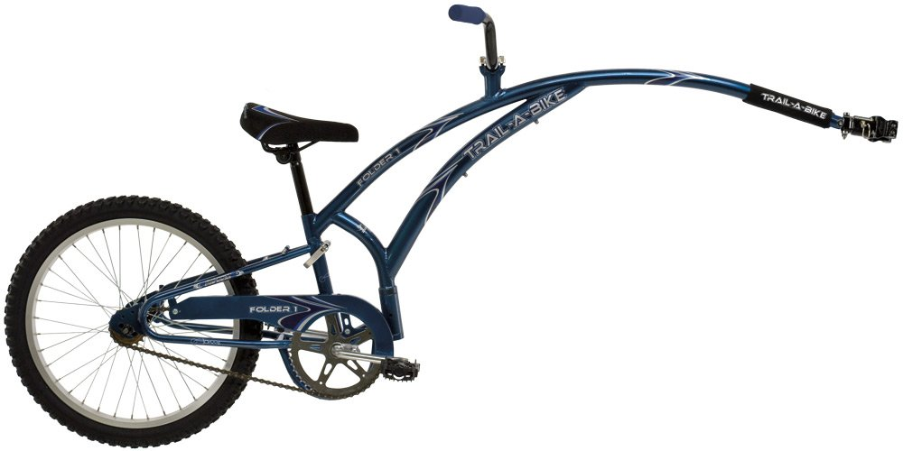 Adams Trail-A-Bike Original Folder, Blue