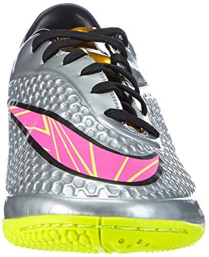 Nike Mens Hypervenom Phelon Prem Ic Scarpe Da Calcio Cromo, Oro Metallizzato, Iper Rosa