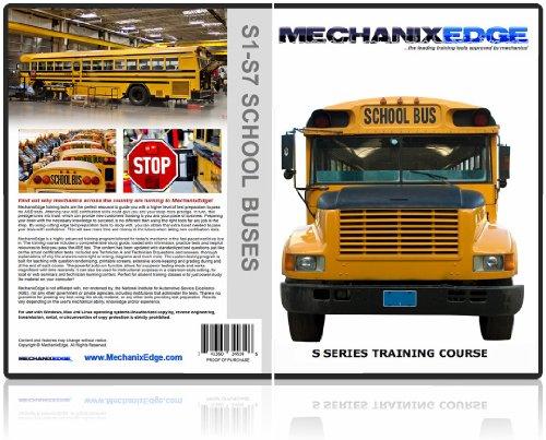 Mechanixedge S1 S7 Ase School Bus Certification Test Prep Study