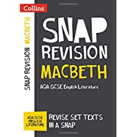 Macbeth: AQA GCSE 9-1 English Literature Text Guide (Collins GCSE 9-1 Snap Revision)