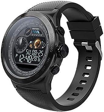 Relojes Inteligentes para Hombres, Fitness Tracker Watch IP67 A Prueba De Agua Podómetro De Pulso De Sueño Contador ...