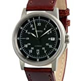 Aristo 5H87 Swiss Automatic Watch with Black Sextant Dial 5H87