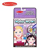 Melissa & Doug On The Go Water Wow! Makeup & Manicures (Reusable Water-Reveal Activity Pad, Chunky-Size Water Pen)