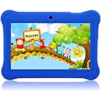 Tagital 7' Quad Core Android Kids Tablet, with Wifi and Camera and Games, HD Kids Edition with Kid Mode Pre-Installed 2017 Version (Blue)