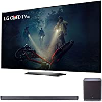 LG B7A Series 65 OLED 4K HDR Smart TV 2017 Model (OLED65B7A) with LG SJ9 Sound Bar 5.1.2ch Hi-Resolution Audio + Dolby Atmos, WiFi & Bluetooth
