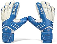 Kids Children Adult & Youth Professional Soccer Goalkeeper Gloves with Finger Protection Latex Soccer Foot