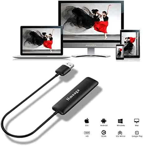 Innens 5G WiFi Wireless HDMI Display Dongle, Full HD 1080P Screen Mirroring Display Receiver Support Chromecast /Miracast /Airplay /DLNA /WIDI for IOS /Android /Mac OS /Win 8.1+